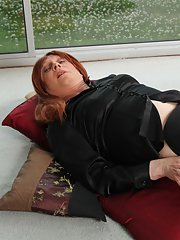 Sexy TGirl Lucimay loves her little black outfits and always gets so horny when she