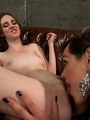 Final update to MILF double team feature shoot - fucking dominating cumming all over