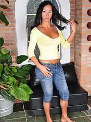 Iirresistible Transsexual Ana Paula Strips