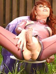 Purple Latex Rain