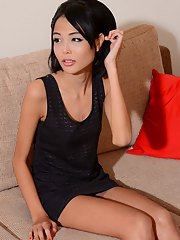 Fifa is a stunning Bangkok girl with beautiful hair natural breasts and a delicious