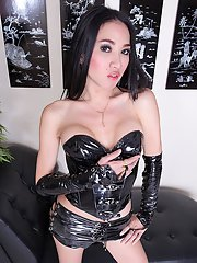 May is one sexy Asian transsexual yearning for cock!