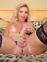 Carla Novaes gets called in for a tranny lovin stud!