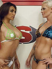 Ultimate Sex Fight Championship Bout! Winner fucks Loser Any WAY!