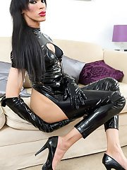 DARK sultry 38 sophisticated Jazmin is a very bad lass who knows exactly what she