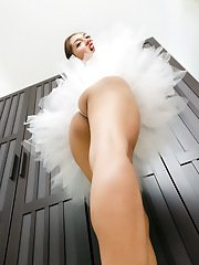 Sensual little shemale is the kinky ballerina of your dirtiest xxx fantasies