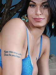 Welcome back stunning super sexy Mariana de Castro! A Tgirl with a significant number