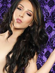 Beautiful Grooby girl Chanel Santini is back! This gorgeous tgirl has an amazing