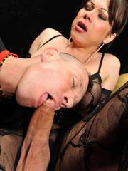 Super shemale Mireja plays with a white slave in this stunning tranny video