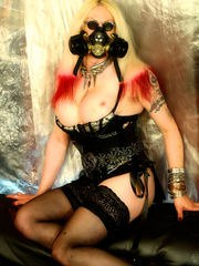 TS-Rockdoll Tempest Shemale Steam Punk Gold
