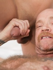 Iconic FTM trans star Buck Angel gets it on with two gorgeous TS babes blonde Aubrey